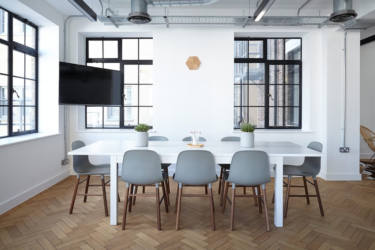 chairs on floor table