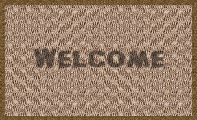 coir doormat rubber backing